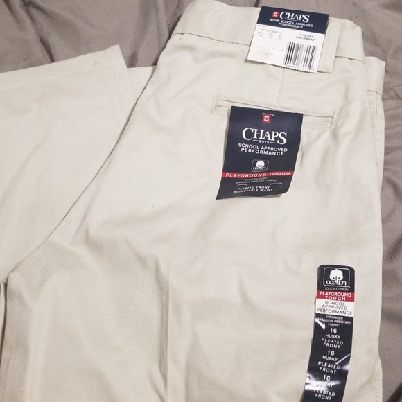 Chaps Other - CHAPS Boys sz 16 Husky Trousers NWT